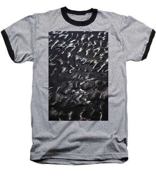 Black Beach Baseball T-Shirt