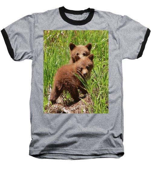 Black Bear Cubs Baseball T-Shirt