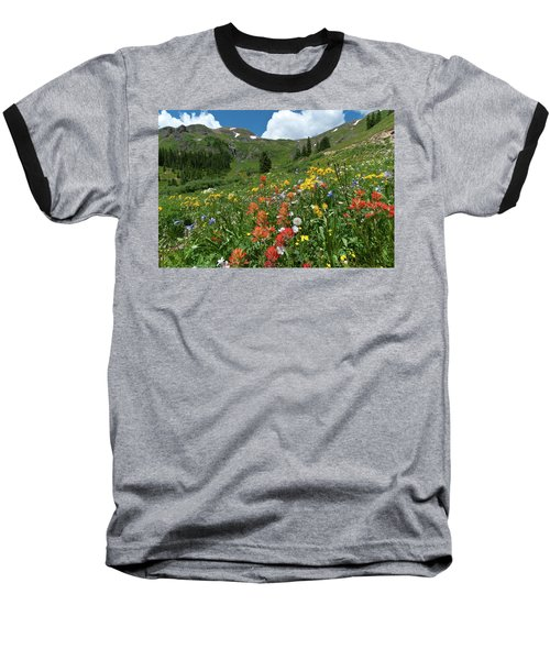 Black Bear Pass Landscape Baseball T-Shirt