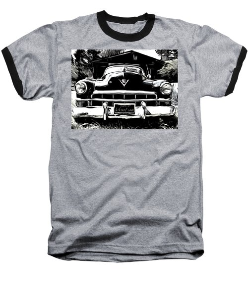 Black Cadillac Baseball T-Shirt