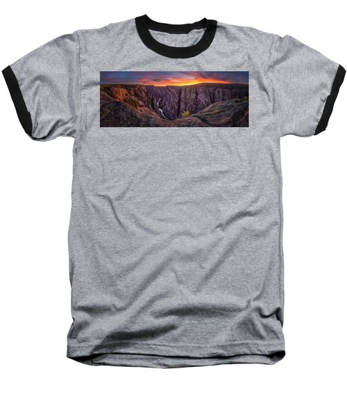 Black Canyon Of The Gunnison Baseball T-Shirt