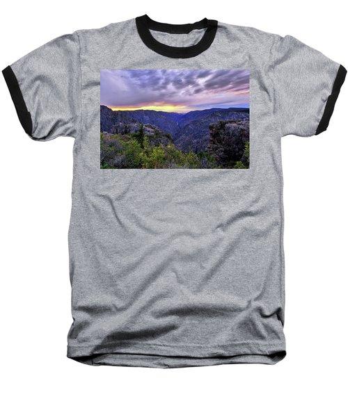 Black Canyon Sunset Baseball T-Shirt
