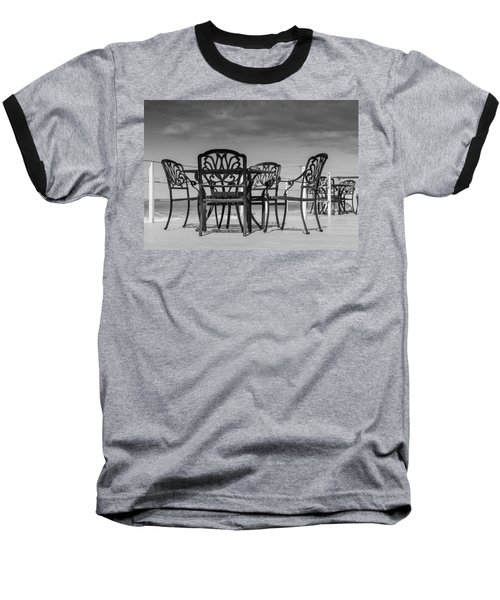 Black Cast Iron Seats Baseball T-Shirt