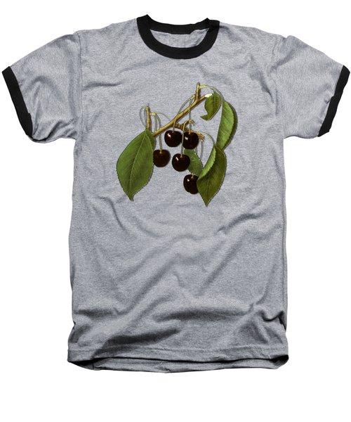 Black Cherries Baseball T-Shirt