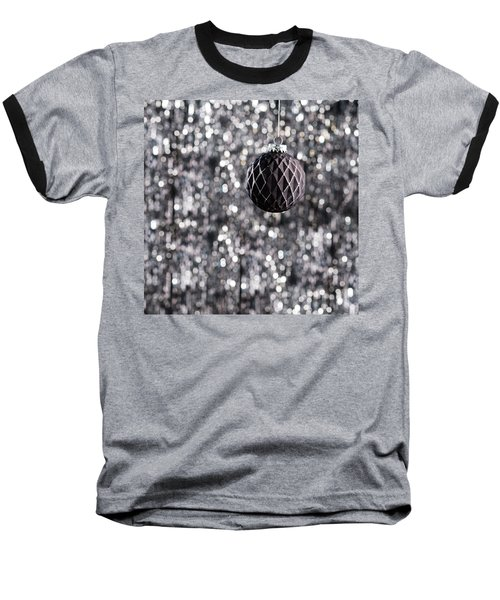 Baseball T-Shirt featuring the photograph Black Christmas by Ulrich Schade