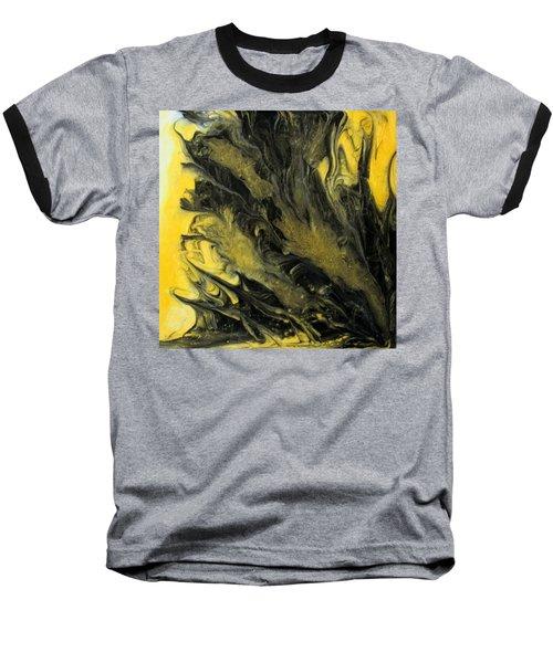 Black Dahlia Baseball T-Shirt by Mary Kay Holladay