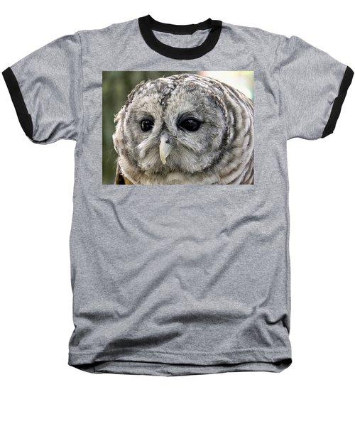 Black Eye Owl Baseball T-Shirt