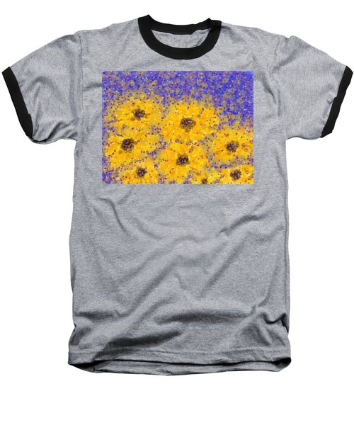 Black Eyed Susan Baseball T-Shirt