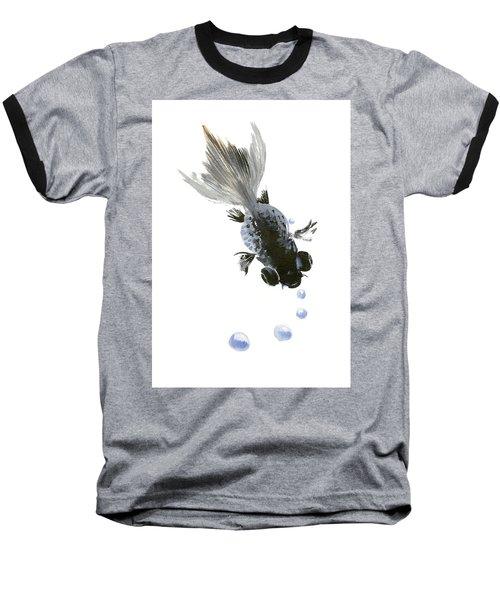 Black Fish Baseball T-Shirt
