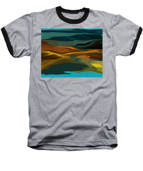 Black Hills Abstract Baseball T-Shirt