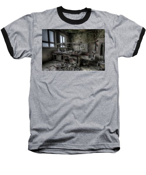 Black Lab Baseball T-Shirt by Nathan Wright