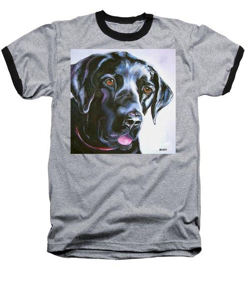 Black Lab No Ordinary Love Baseball T-Shirt
