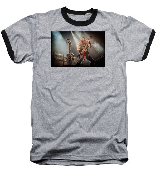 Baseball T-Shirt featuring the photograph Black Label Society II by Stefan Nielsen