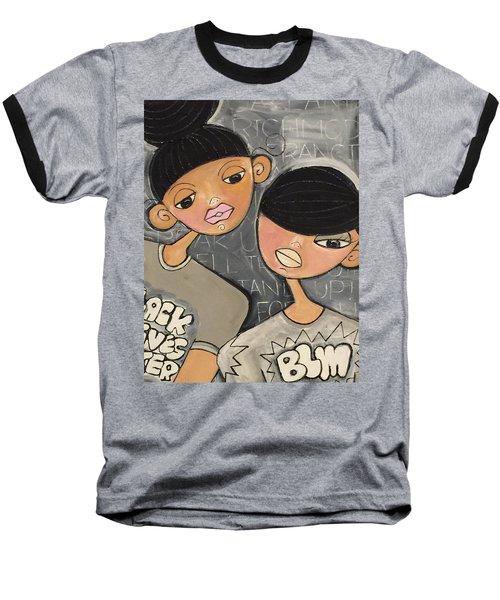 Black Lives Matter Baseball T-Shirt