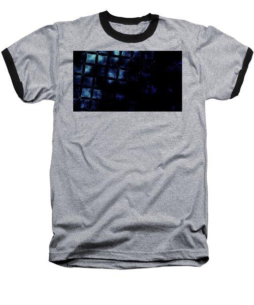 Black N Blue Burn Baseball T-Shirt by Carol Crisafi