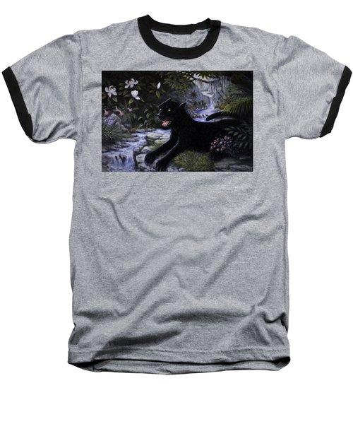 Black Panther Baseball T-Shirt