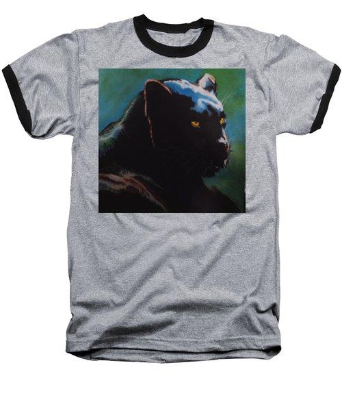 Black Panther Baseball T-Shirt by Maris Sherwood