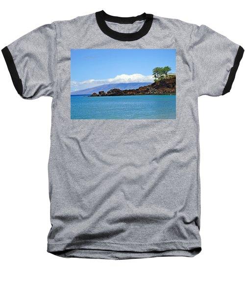 Black Rock Beach And Lanai Baseball T-Shirt