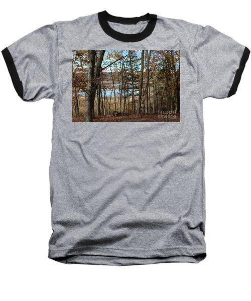 Baseball T-Shirt featuring the photograph Black Rock Flats From The Mary Ann by Donald C Morgan