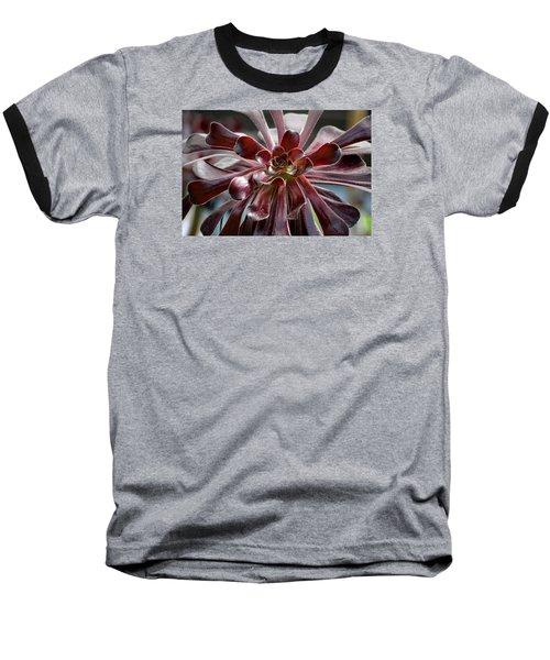 Black Rose Baseball T-Shirt