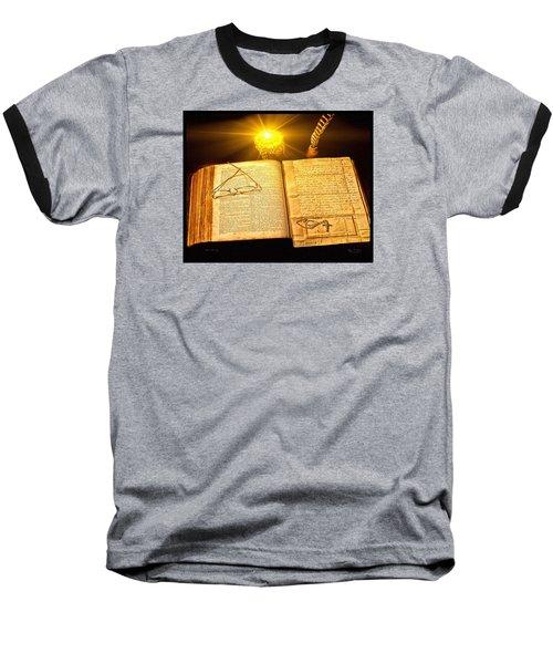 Black Sunday Baseball T-Shirt by Mark Allen