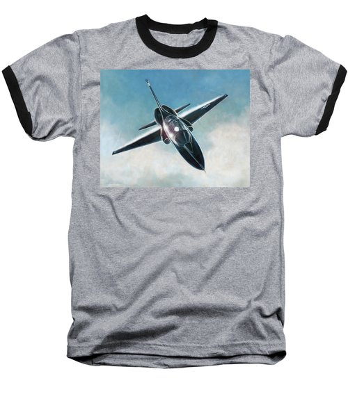 Black T-38 Baseball T-Shirt