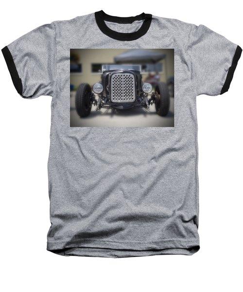 Black T-bucket Baseball T-Shirt