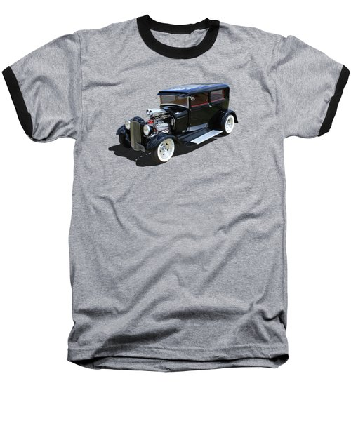 Black Tudor Baseball T-Shirt