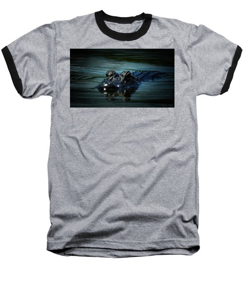 Black Water Baseball T-Shirt