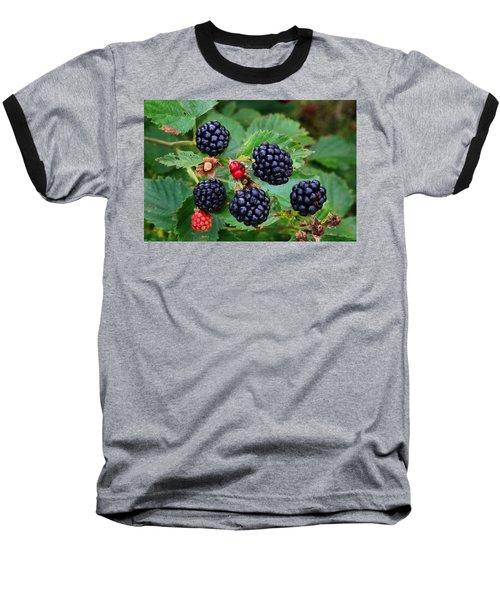 Blackberries 2 Baseball T-Shirt