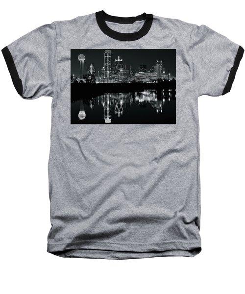 Blackest Night In Big D Baseball T-Shirt