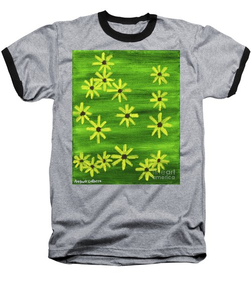Blackeyed Susan Baseball T-Shirt