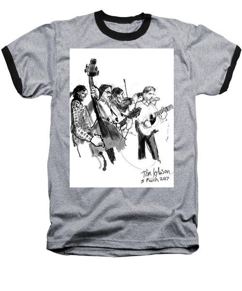 Blacksmith II Baseball T-Shirt by Tim Johnson