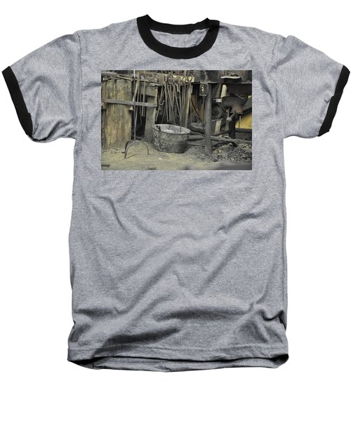 Blacksmith's Bucket Baseball T-Shirt by Jan Amiss Photography