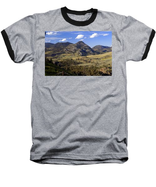Blacktail Road Landscape 2 Baseball T-Shirt