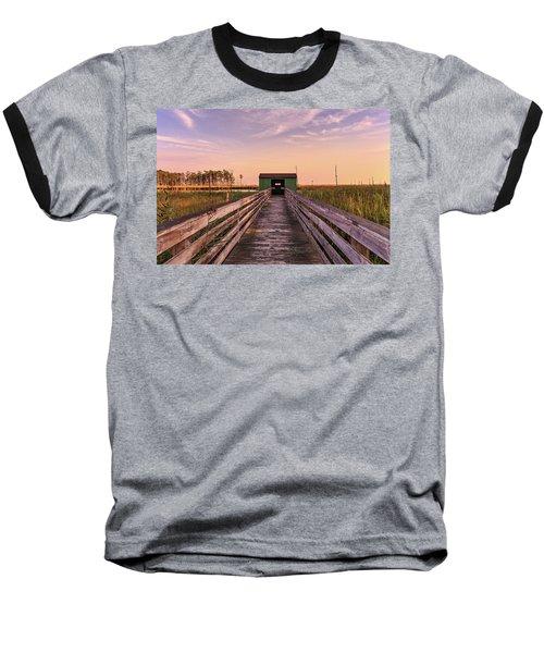 Baseball T-Shirt featuring the photograph Blackwater Blind by Jennifer Casey