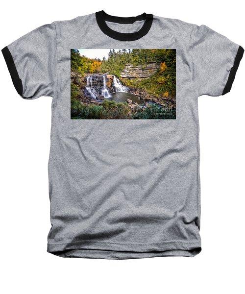 Blackwater Falls In Autumn3836c Baseball T-Shirt