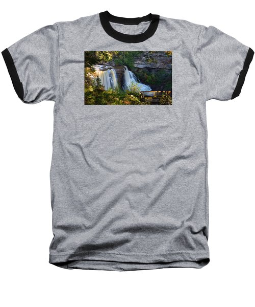 Blackwater Falls Baseball T-Shirt