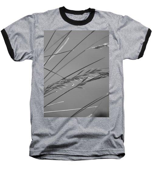 Blades Of Gray Baseball T-Shirt