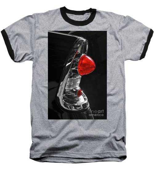 Baseball T-Shirt featuring the photograph Black '56 by Dennis Hedberg