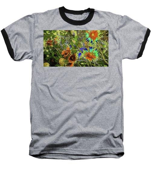 Blanket Flower II Baseball T-Shirt