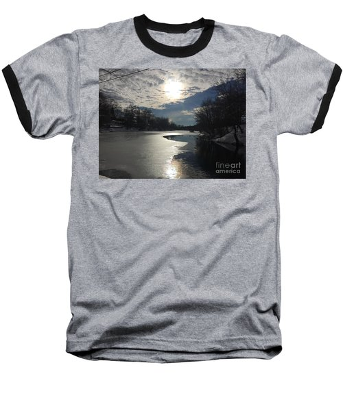 Blanket Of Clouds Baseball T-Shirt by Jason Nicholas