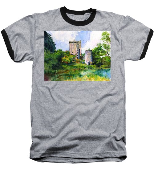 Blarney Castle Landscape Baseball T-Shirt