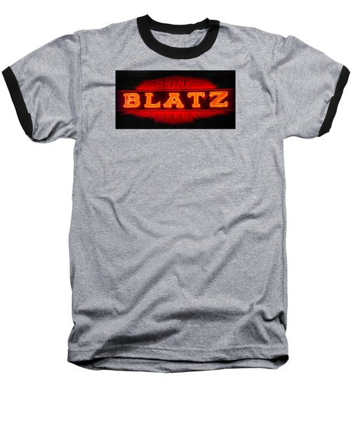 Blatz Beer  Baseball T-Shirt