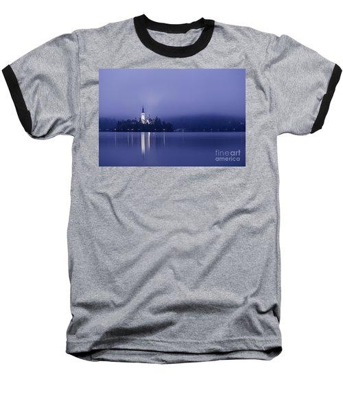 Bled Slovenia Baseball T-Shirt by Mariusz Czajkowski