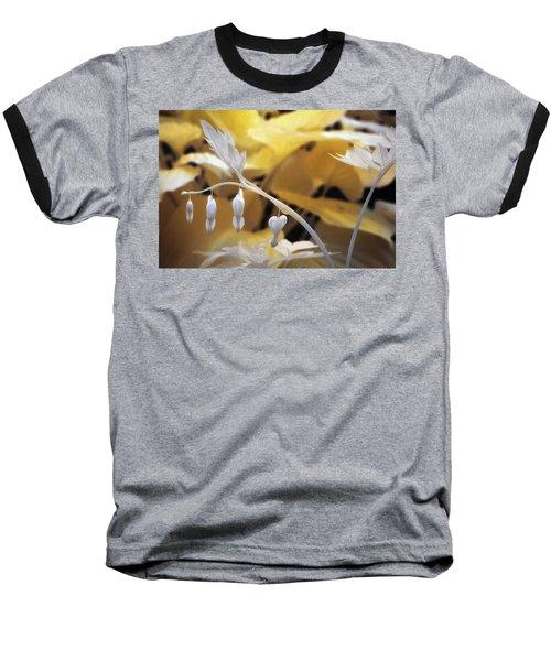 Bleeding Heart Gld Baseball T-Shirt by Paul Seymour