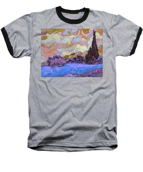 Blend 20 Van Gogh Baseball T-Shirt by David Bridburg