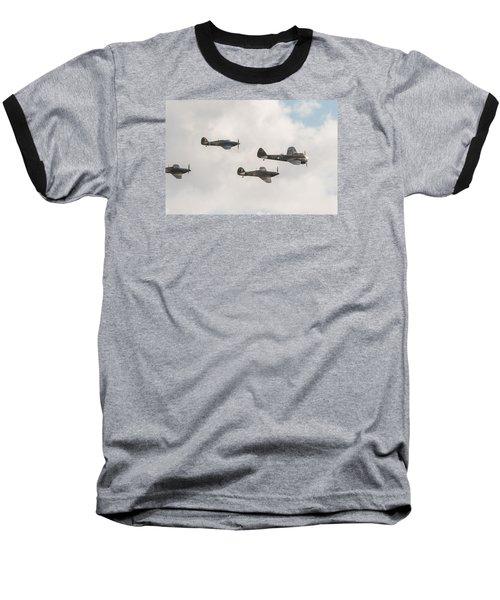 Blenheim And Hurricanes Baseball T-Shirt by Gary Eason