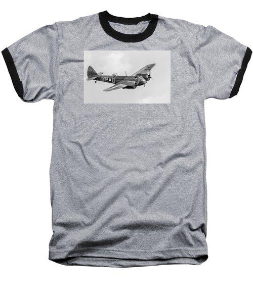 Blenheim Mk I Black And White Version Baseball T-Shirt by Gary Eason