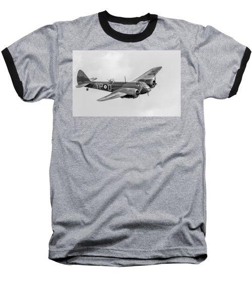 Blenheim Mk I Black And White Version Baseball T-Shirt